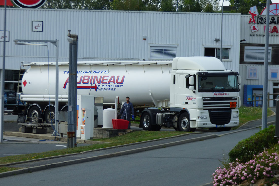 Citerne carburant